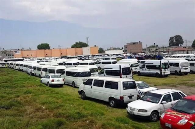 Documentan acarreo masivo a mitin de Del Mazo en Valle de Chalco.