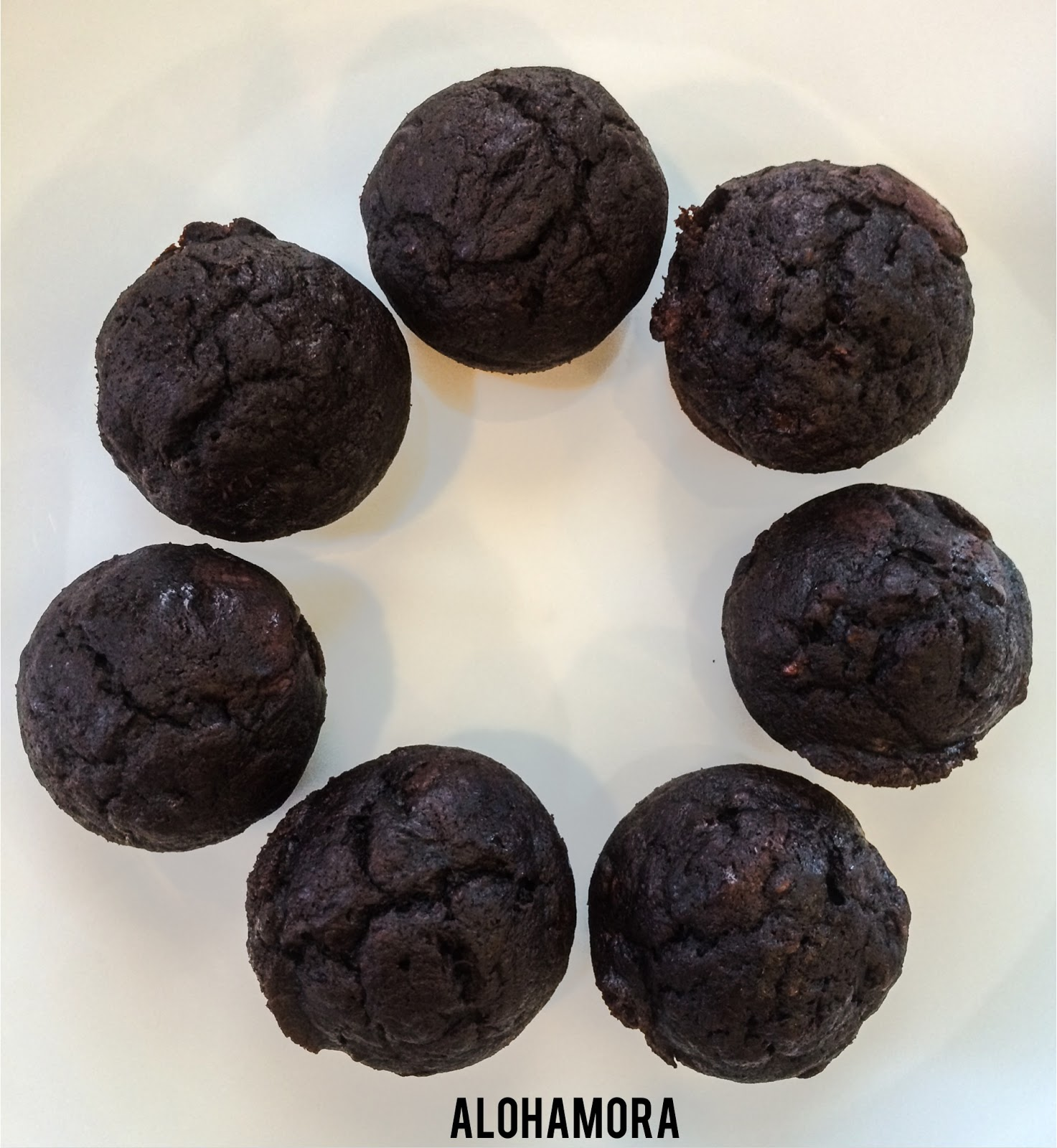 Double Chocolate Banana Bread or Muffin Bites.  Easy to make, uses overripe bananas, freezer friendly, and all around the best way to use those bananas.  Bite size for an easy to grab breakfast.  Alohamora Open a Book http://alohamoraopenabook.blogspot.com/