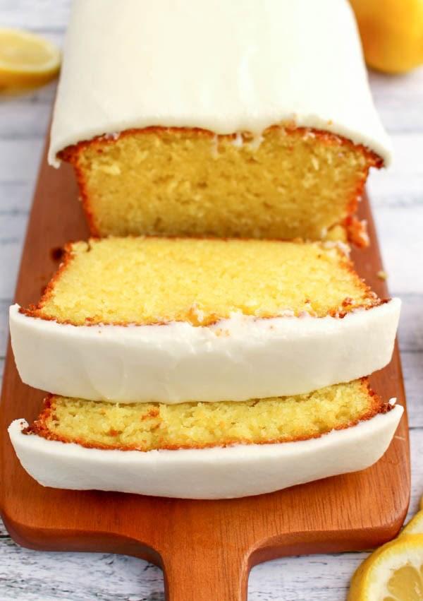 STARBUCK'S LEMON LOAF #starbuck #lemon #dessert #cake #cupcakes