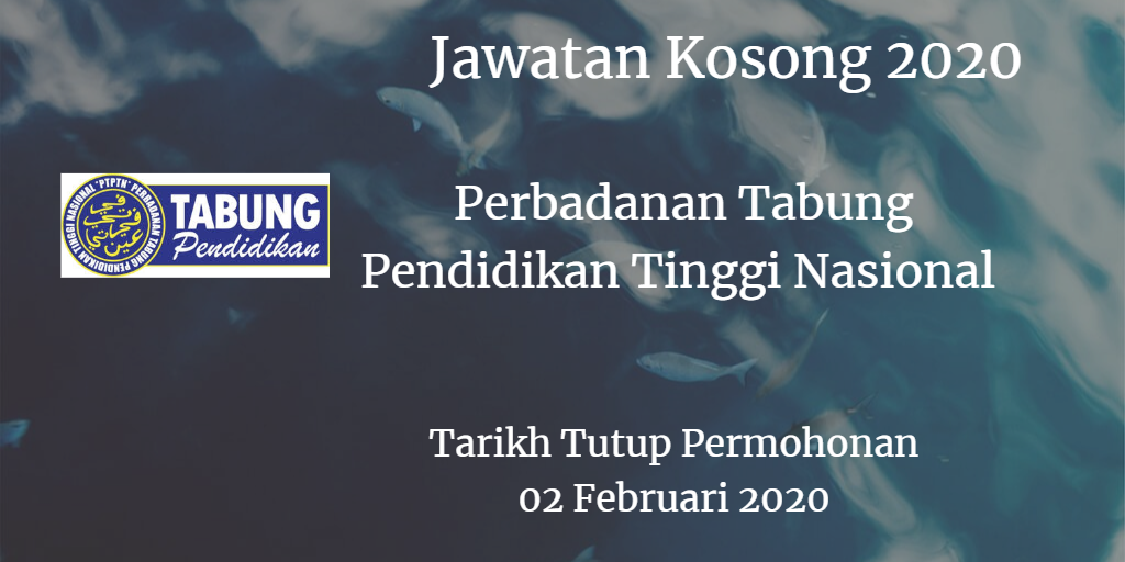 Jawatan Kosong PTPTN 02 Februari 2020
