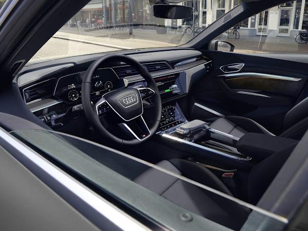 Audi e-tron 2022 Black Edition Sporback - interior