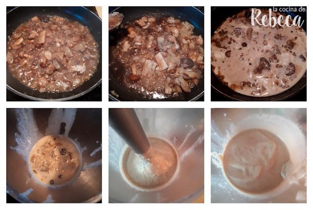 Receta de salsa de setas 02
