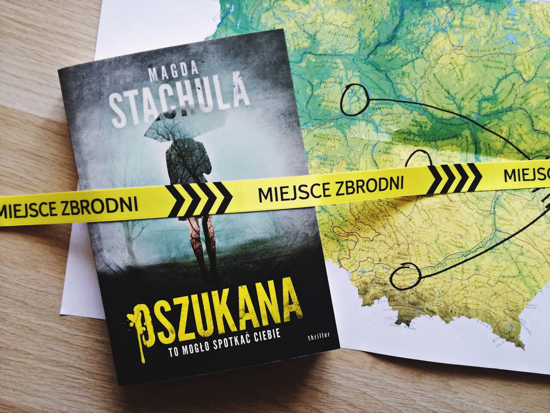 Oszukana, Magda Stachula, książka, recenzja książki, powieść, thriller, Edipresse Książki