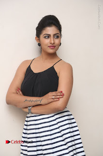 Telugu Actress Kruthika Jayakumar Stills in Short Dress at Intlo Deyyam Nakem Bhayam Success Meet  0032.JPG