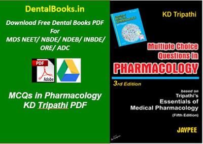 MCQs in Pharmacology KD Tripathi PDF