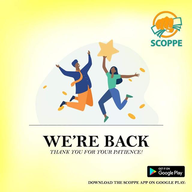 Scoppe loan app