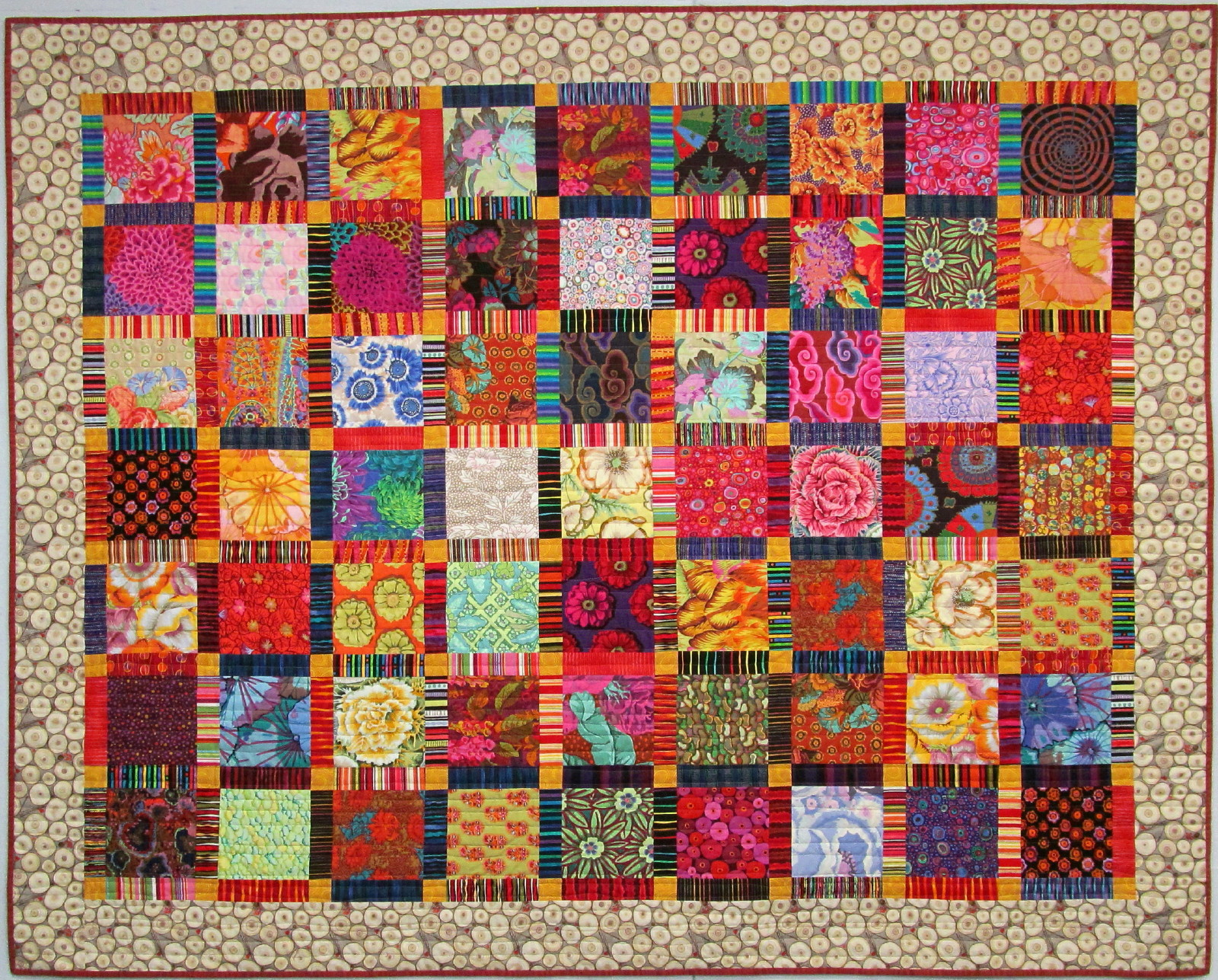 Exuberant Color : Quilts with Kaffe Fassett Fabric : striped fabric quilt patterns - Adamdwight.com