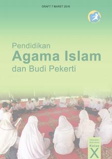 Ilmu Hexa; Cover Buku Agama Islam Kelas 10 Kurikulum 2013 Revisi 2016