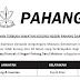 Pengambilan Jawatan Kosong Terkini di Negeri Pahang Darul Makmur