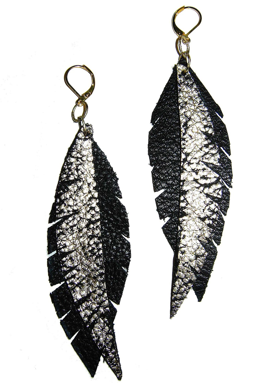 Lush Leathers How To Make Leather Earrings