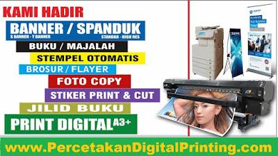 Layanan Percetakan Digital Printing Gratis Desain Di Cibubur Jaktim