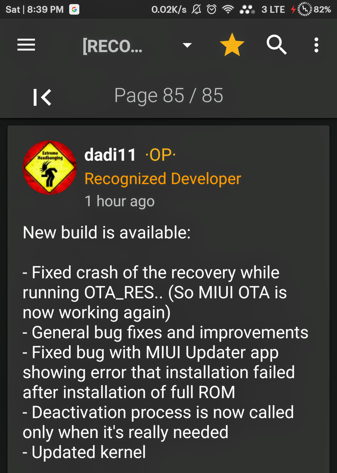 Mi Update: Red Wolf Recovery Version 3 2 1 Build 025/026
