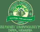 Summit University Top-Up Degree & HND Conversion Form 2020/2021