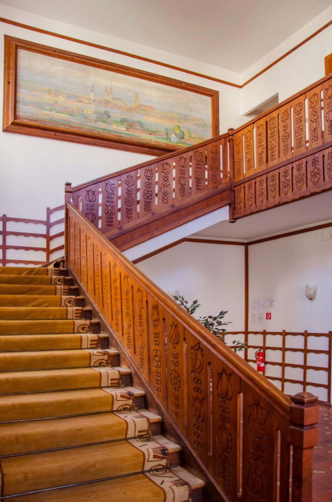 Jurkovič, schodiště