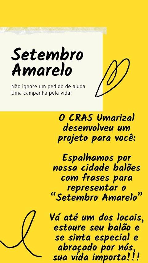 Setembro Amarelo: balões nas praças de Umarizal trazem mensagens de autoestima e motivação