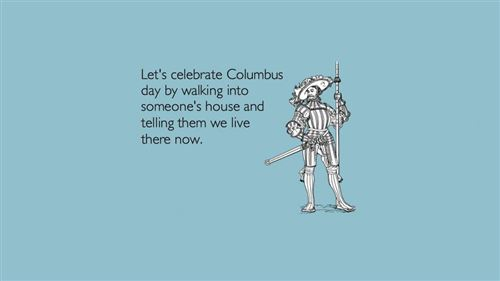 Best Celebrate Columbus Day Ecard