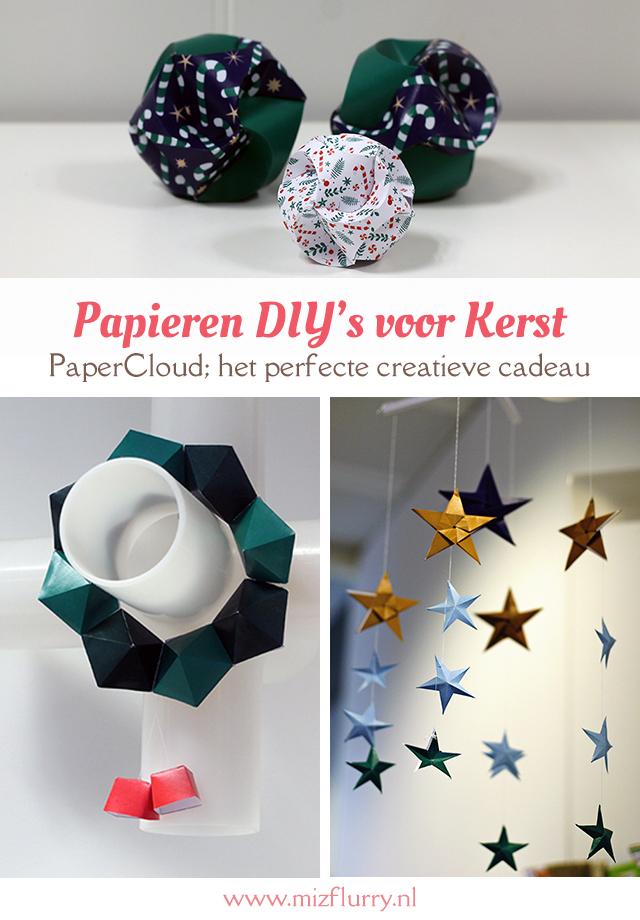 De PaperCloud Christmas van Denksport is het perfecte cadeau voor een creatief persoon. Ik mocht de papieren DIY's al uitproberen en geef je een voorproefje.