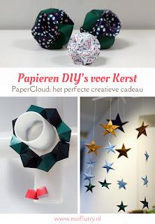 Creatief cadeau-idee: PaperCloud Christmas