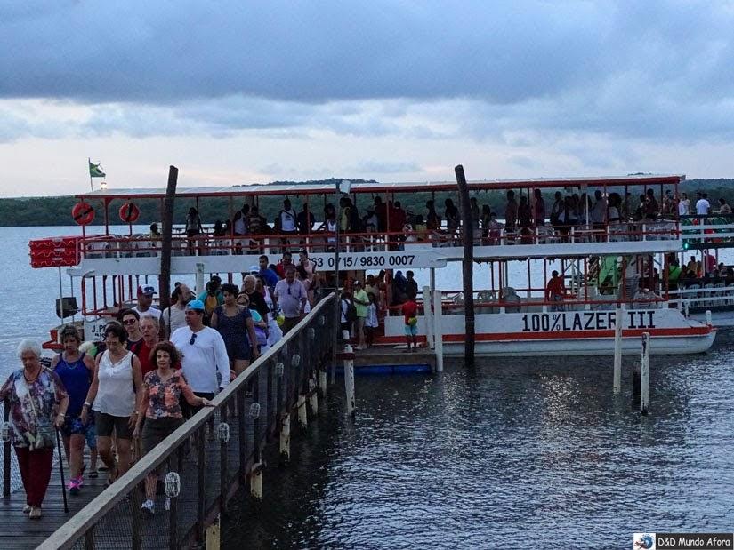 Passeio de catamarã para ver o Pôr do sol na Praia do Jacaré - Cabedelo - Paraíba