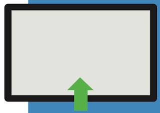 swipe dal basso Come usare la gesture in Windows 10