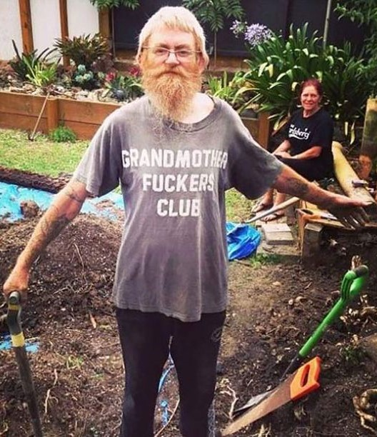GRANDMOTHER FUCKERS CLUB shirt.  PYGear.com