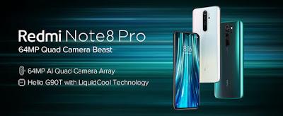Redmi Note 8 Pro Halo White