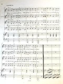 Chorus to Old Kentucky Home