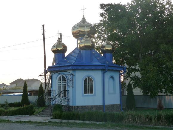 Маршинцы. Часовня на перекрёстке улиц Центральной и Свято-Николаевской