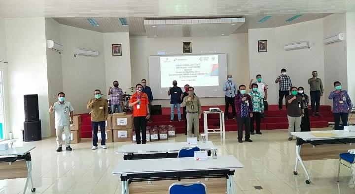SKK Migas – KKKS di Provinsi Jambi Gerak Bersama Wujudkan Kepedulian Siaga Covid-19