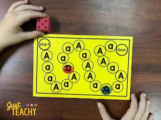 Alphabet Board Games for Letter Recognition
