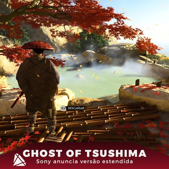 Ghost of Tsushima está prestes a ganhar uma versão estendida