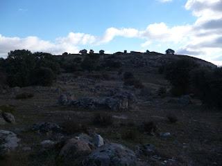 Vista norte del castro de Las Cogotas