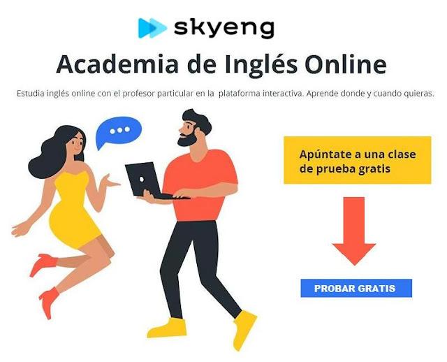 Prueba gratis clases de inglés online