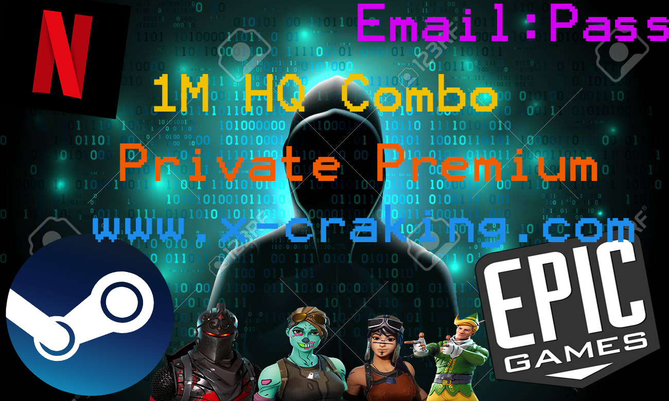 1M HQ Combo Private EMAIL-PASS Premium by X-cracking - X-Cracking