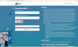 beranda Pencarian NISN
