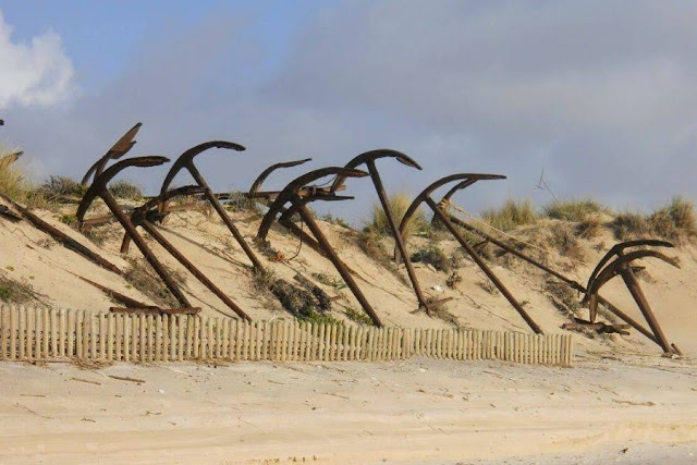 The Algarve in Winter: Anchors on Ilha Tavira