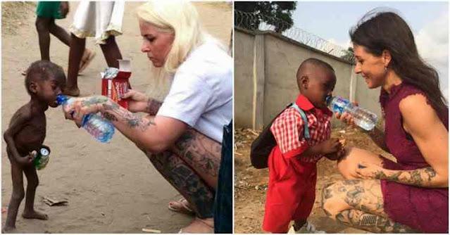 История этого мальчика из Нигерии трогает до глубины души. Он пережил предательство родителей и страшный голод…