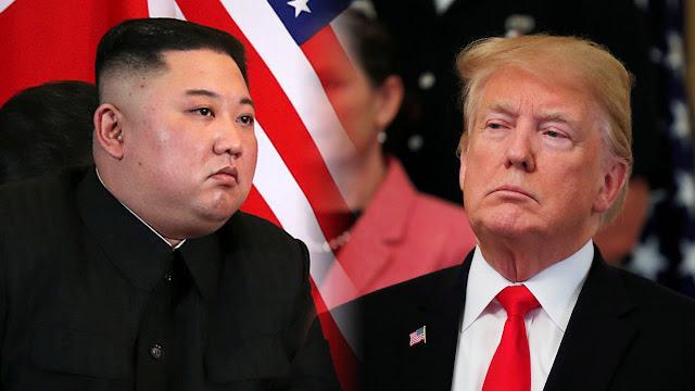 politik, Donald Trump, Korut Kim Jong un,