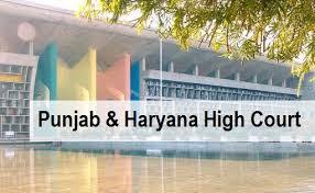 Punjab and Haryana High Court Recruitment