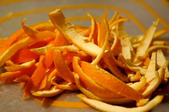 Orange Peel Home Remedy