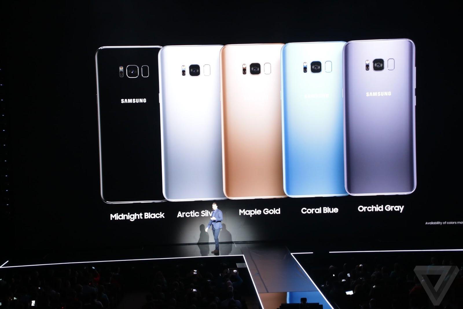 مواصفات سامسونج جالالكسي Samsung Galaxy S8 الجديد