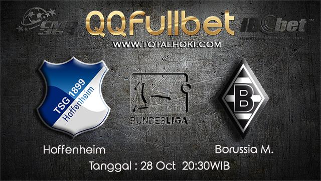 PREDIKSIBOLA - PREDIKSI TARUHAN BOLA HOFFENHEIM VS MONCHENGLADBACH 28 OCTOBER 2017 (BUNDESLIGA)