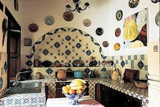 Las portaviandas de juanita y gume las cocinas mexicanas for Muebles talavera