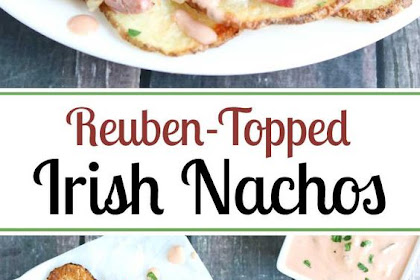 Reuben-Topped Irìsh Nachos