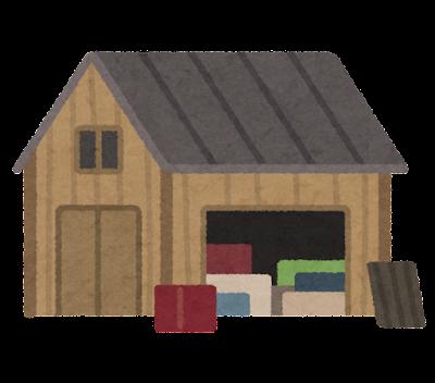 納屋のイラスト