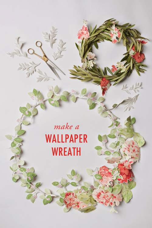 DIY with Wallpaper