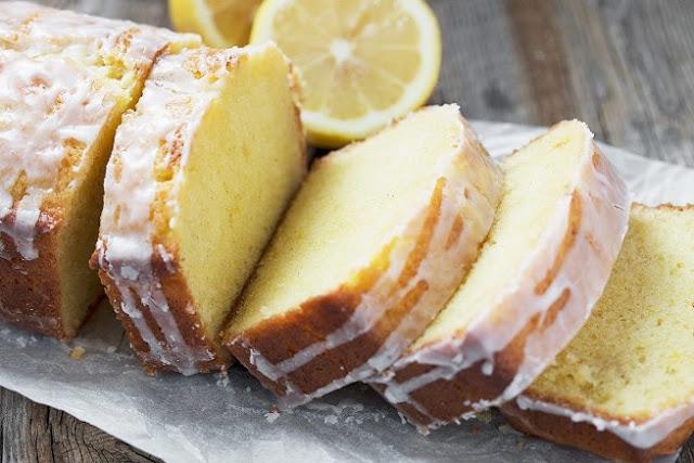 Lemon Loaf with Lemon Glaze #cake #baking