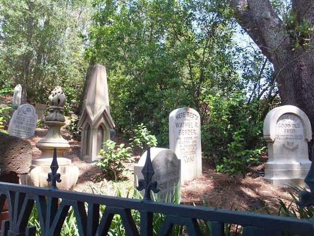 Haunted Mansion Graveyard Walt Disney World
