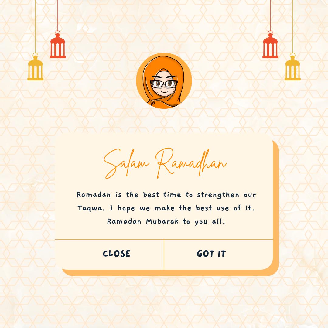 Ucapan salam ramadhan 1442h