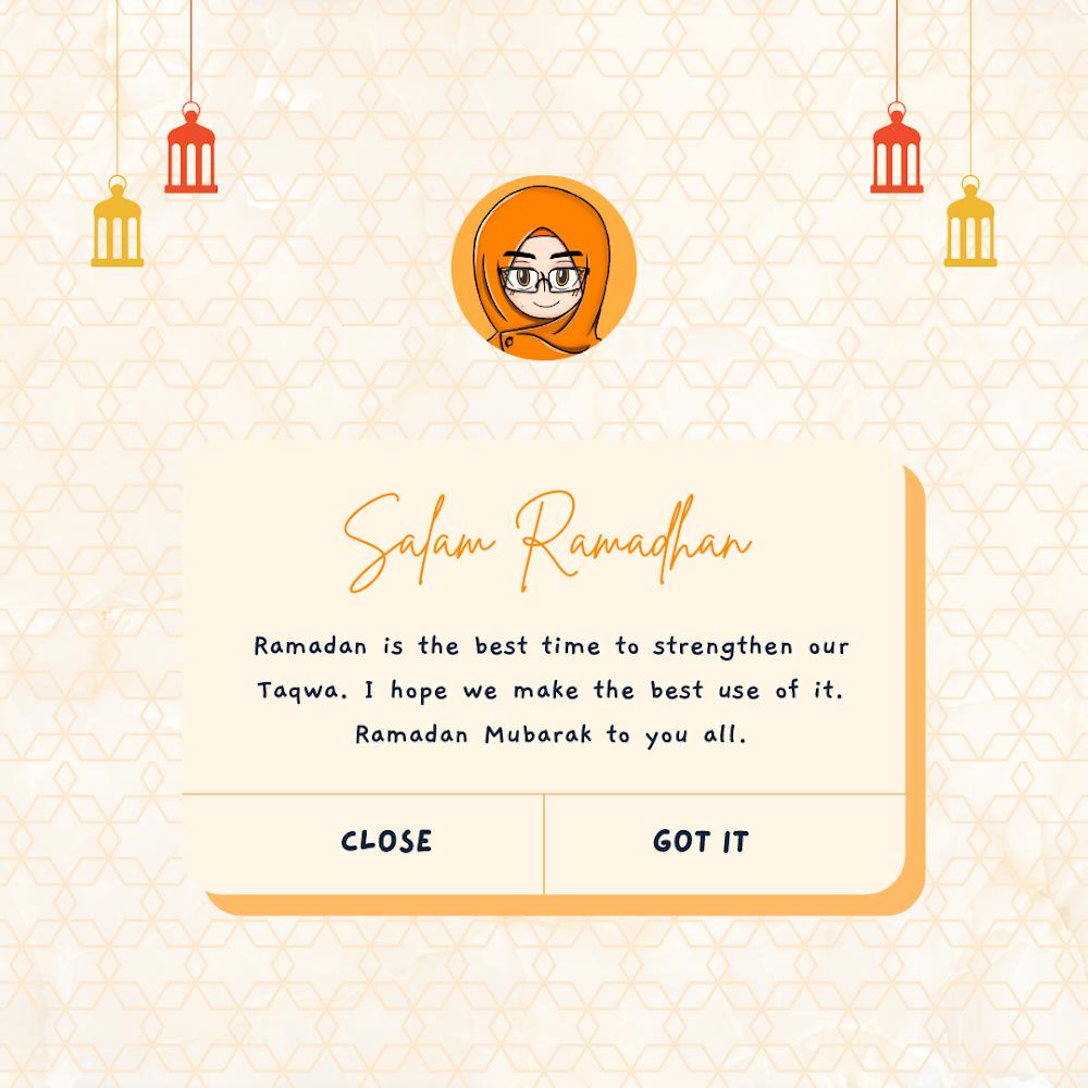 Salam Ramadhan 1442 H!